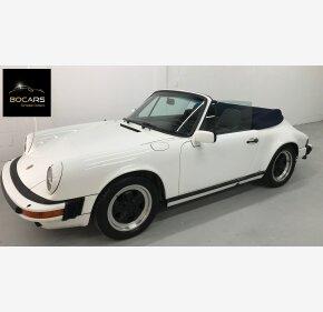 1984 Porsche 911 Carrera Cabriolet for sale 101217699
