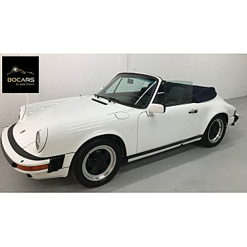1984 Porsche 911 Carrera Cabriolet for sale 101217699