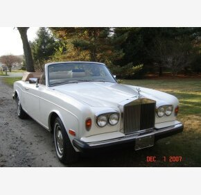 1984 Rolls-Royce Corniche for sale 101241628