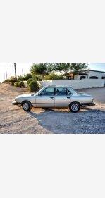 1985 BMW 528e Sedan for sale 101435023
