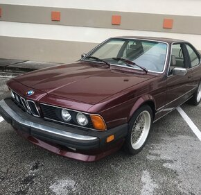1985 BMW 635CSi Coupe for sale 101211919