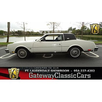 1985 Buick Riviera Coupe for sale 100965363