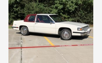 1985 Cadillac De Ville Coupe for sale 101385113