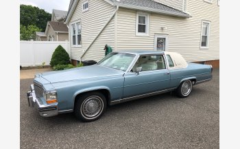 1985 Cadillac Fleetwood Brougham Coupe for sale 101197614