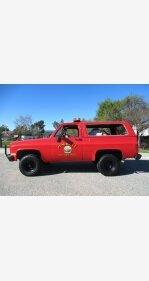 1985 Chevrolet Blazer 4WD for sale 101109494