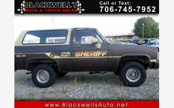 1985 Chevrolet Blazer for sale 101317846