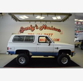 1985 Chevrolet Blazer 4WD for sale 101325749