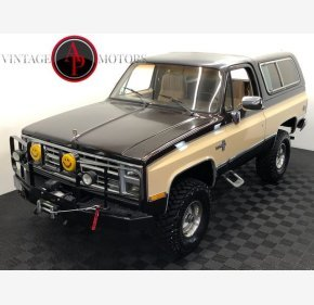 1985 Chevrolet Blazer 4WD for sale 101334052