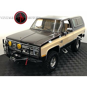 1985 Chevrolet Blazer 4WD for sale 101334052