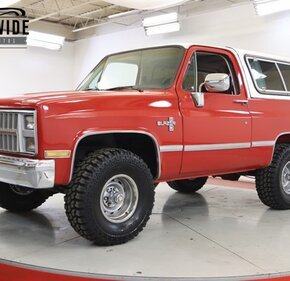 1985 Chevrolet Blazer 4WD for sale 101407436