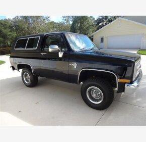 1985 Chevrolet Blazer 4WD for sale 100951961
