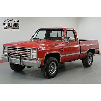1985 Chevrolet C/K Truck 4x4 Regular Cab 1500 for sale 101060699