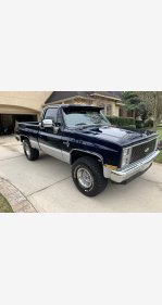 1985 Chevrolet C/K Truck 4x4 Regular Cab 1500 for sale 101287309