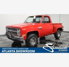 1985 Chevrolet C/K Truck 4x4 Regular Cab 1500 for sale 101167787