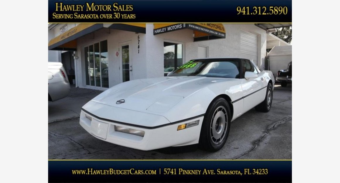 1985 Chevrolet Corvette Coupe for sale 101026525