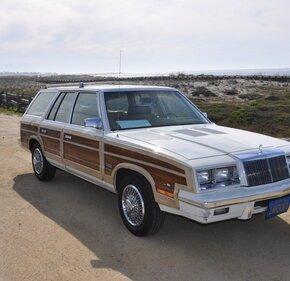 1985 Chrysler LeBaron Town & Country Wagon for sale 101147057