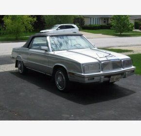 1985 Chrysler LeBaron for sale 101367564