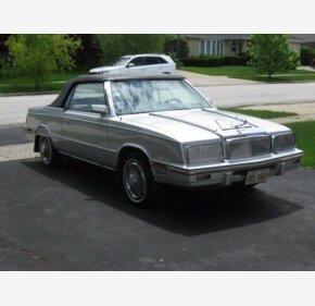 1985 Chrysler LeBaron for sale 101440441
