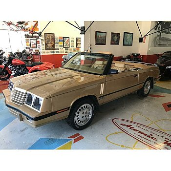 1985 Dodge 600 ES Convertible for sale 100997769