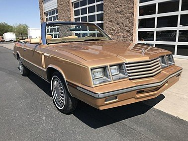 1985 Dodge 600 Convertible for sale 101492566