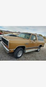 1985 Dodge Ramcharger for sale 101307718