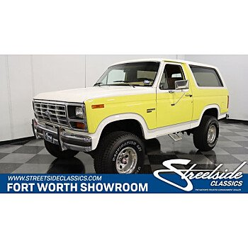 1985 Ford Bronco for sale 101552885