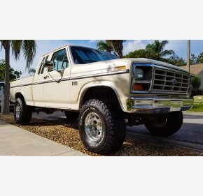 1985 Ford F150 2WD SuperCab for sale 101224228