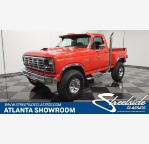 1985 Ford F150 4x4 Regular Cab for sale 101227534