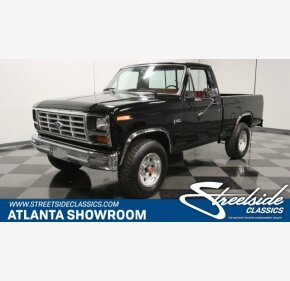 1985 Ford F150 4x4 Regular Cab for sale 101277778
