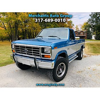 1985 Ford F250 4x4 Regular Cab for sale 101228119