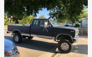 1985 Ford F250 4x4 SuperCab for sale 101601272