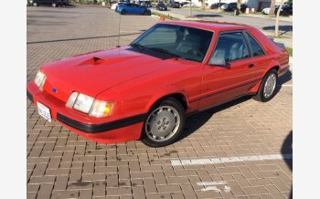 1985 Ford Mustang SVO Hatchback for sale 101282135