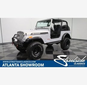 1985 Jeep CJ 7 for sale 101101395