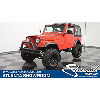 1985 Jeep CJ 7 for sale 101186335