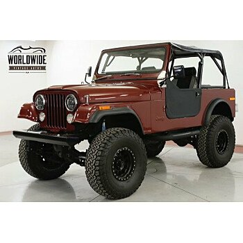 1985 Jeep CJ 7 for sale 101263025