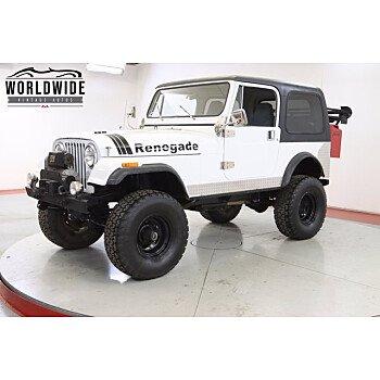 1985 Jeep CJ 7 for sale 101394689