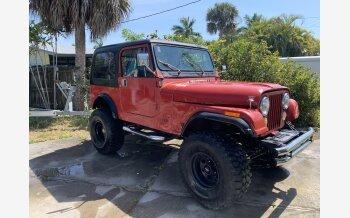 1985 Jeep CJ 7 for sale 101490729
