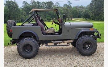 1985 Jeep CJ 7 for sale 101600667
