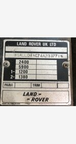 1985 Land Rover Defender 90 for sale 101181801