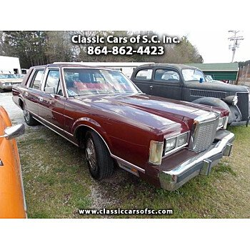 1985 Lincoln Town Car for sale 101017324