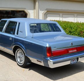 1985 Lincoln Town Car Signature w/ Special Edition for sale 101188584