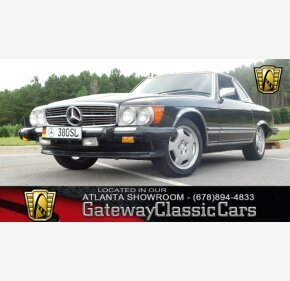1985 Mercedes-Benz 380SL for sale 101020803