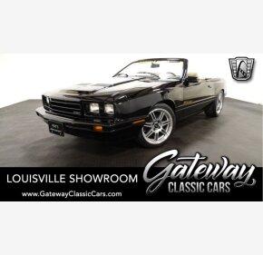 1985 Mercury Capri ASC McLaren for sale 101228057
