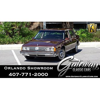 1985 Oldsmobile Ninety-Eight Regency Brougham Sedan for sale 101032928