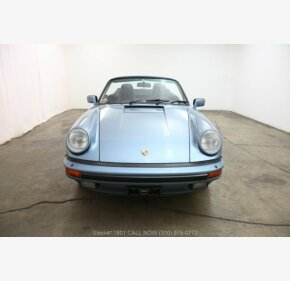 1985 Porsche 911 Carrera Cabriolet for sale 101297022