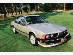 1986 BMW 635CSi Coupe for sale 101393377