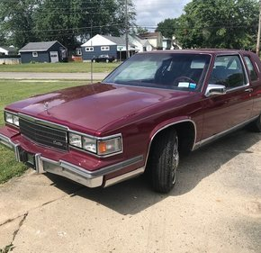 1986 Cadillac De Ville Fleetwood Edition for sale 101241672