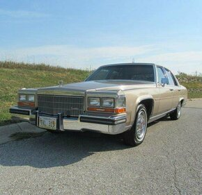 1986 Cadillac Fleetwood Brougham Sedan for sale 100907600