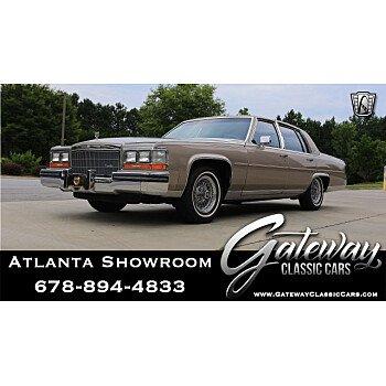 1986 Cadillac Fleetwood Brougham Sedan for sale 101180016