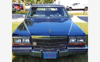 1986 Cadillac Fleetwood Brougham Sedan for sale 101354066
